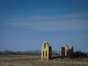 prairie ruin
