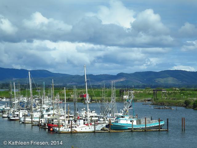 fishing fleet at Ilwaco