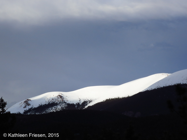pike's peak massif