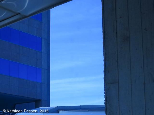 study in blues