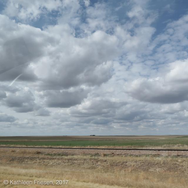 High Plains Landscape and Cloudscape-1190